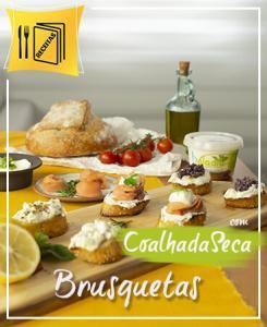 Brusquetas Coalhada Seca - Labneh de Iogurte Natural