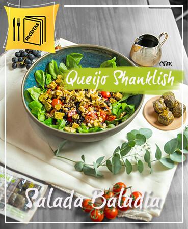 Receita Salada Queijo Chankliche Fresco