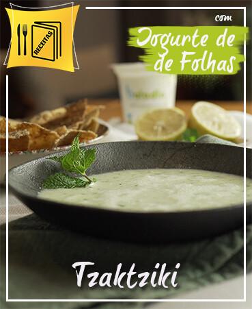 Receita Tzaktziki de Ayran Iogurte Natural