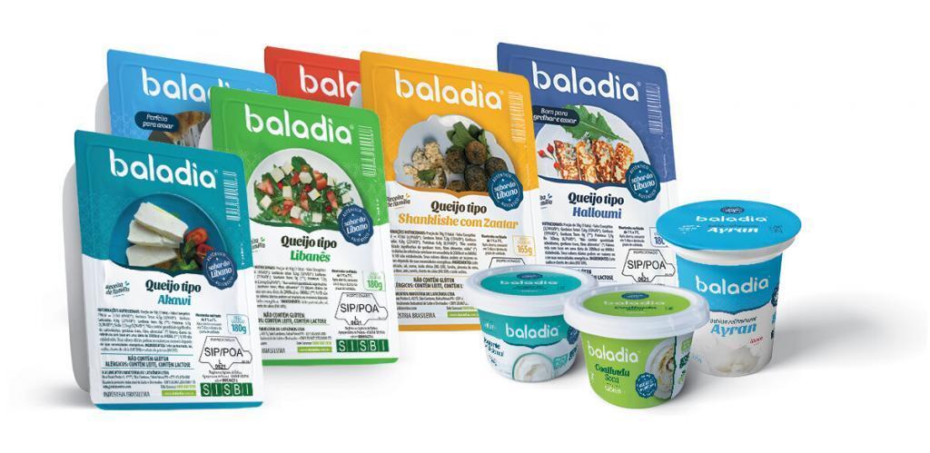 Produtos Baladia de Iogurte Natural e Queijos